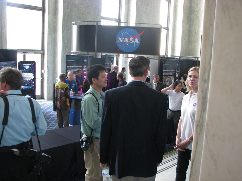 NASA--Just hosting a little fundraiser in the downstairs of the Rayburn Capitol building.
