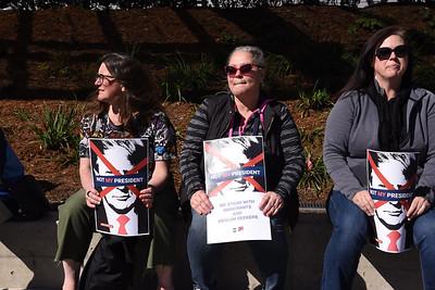 San Francisco Demonstration against Trump's Emergency Declaration