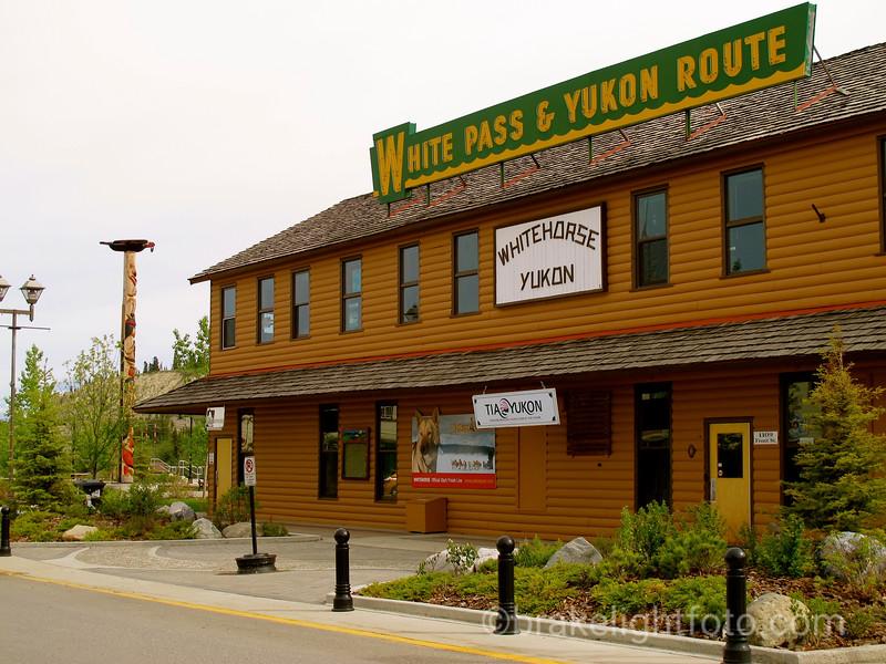 White Pass & Yukon Route Train Station