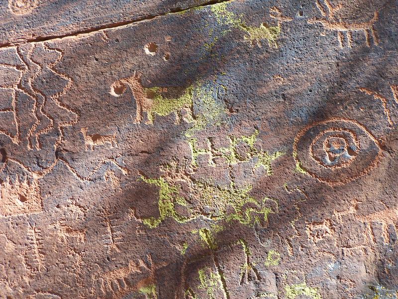 Sinagua petroglyphs.