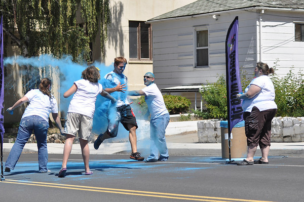 Color Mob 5K Colfax WA. 2013