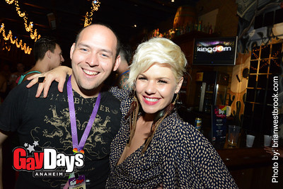 Kingdom w/DJ Kimberly S at Ralph Brennan's Jazz Kitchen (6 Oct 2012)