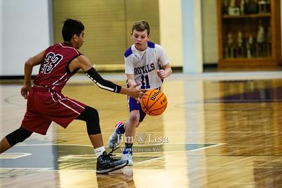 Basketball (7th & 8th Grade) vs Crooked Oak, January 9