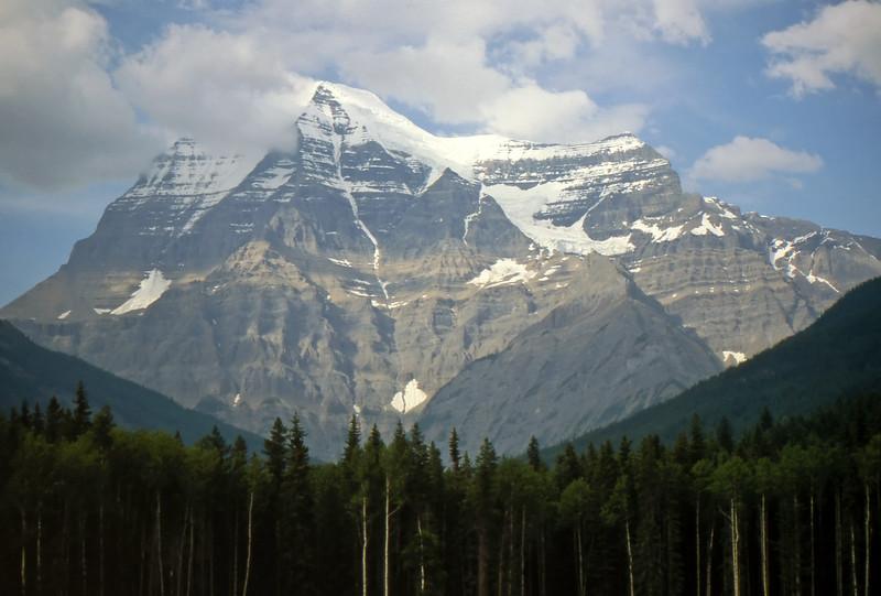 Mt. Robson - British Columbia, Canada - Summer 1990