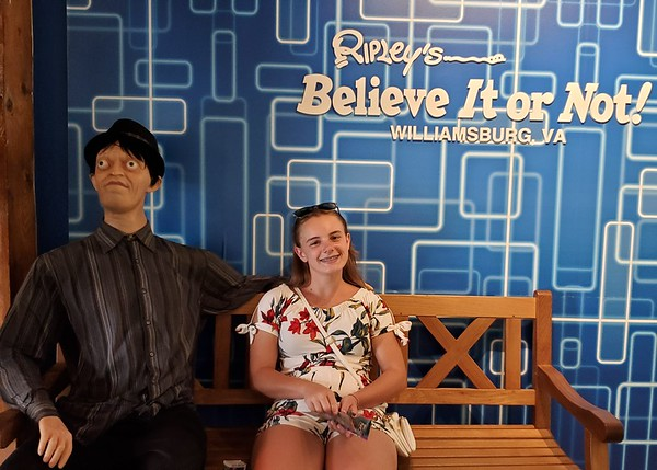 VA, Williamsburg - Ripley's Belived it or Not Museum & 4D 2019