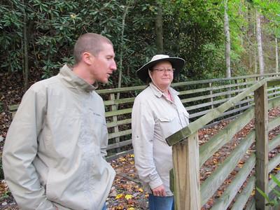 NPS Rend Trail,  Thurmond WV, Fall 2013