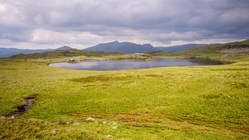 Mountain pond on Cnicht