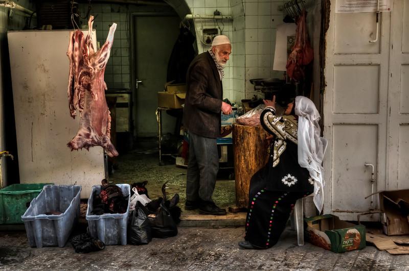 Butchers, Hebron, Palestine, 2012.
