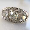 1.69ctw Art Deco Old European Cut 3-Stone Ring 23