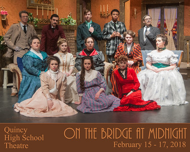 QHS Winter Play 2018 On the Bridge at Midnight