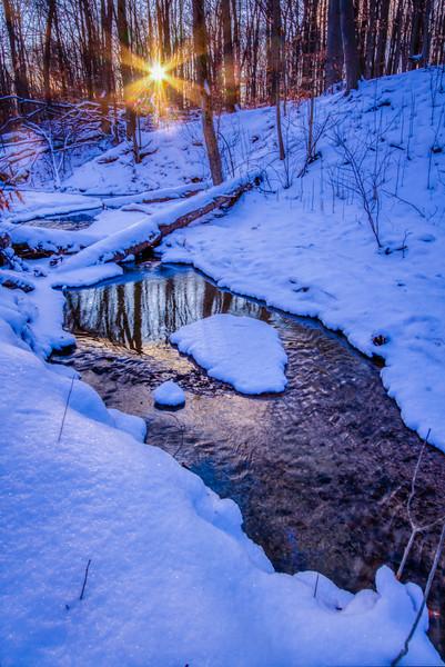 Winter Off Trail
