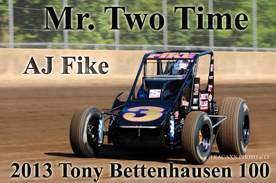 Tony Bettenhausen 100 - 8/17/13