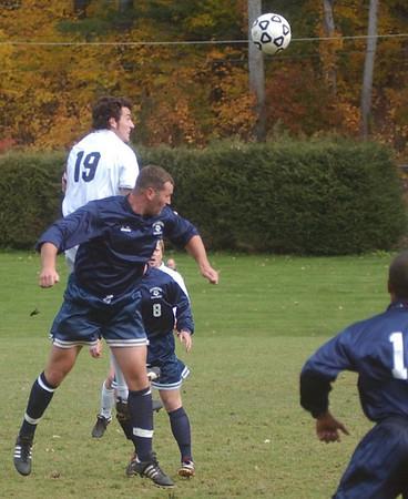 MCLA men's soccer vs. Mass. Maritime