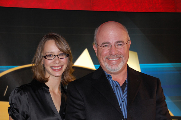Cali Lewis and Dave Ramsey  At The Dave Ramsey Show