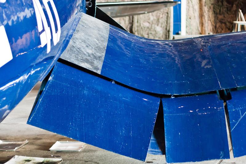 F4U Corsair wing