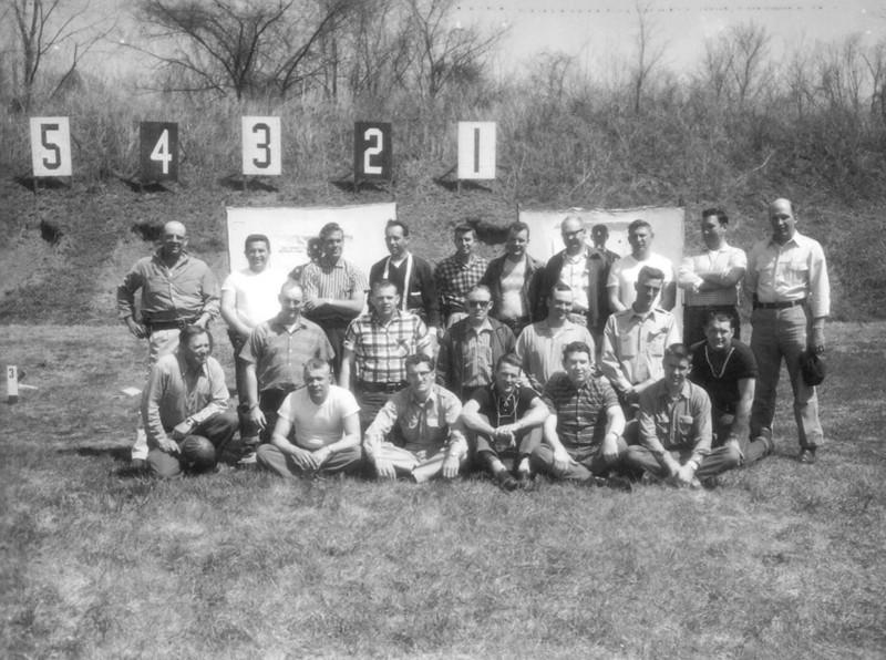 1960's Class photo at Range