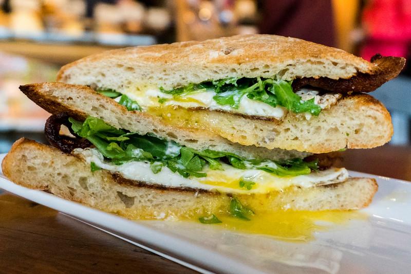 Egg Sandwich at Madison Kitchen