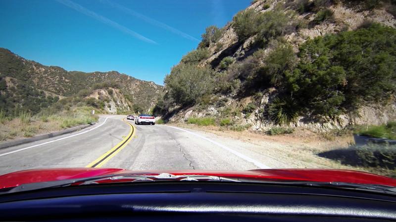 NSX Canyon Drive - Little Tujunga Canyon Road