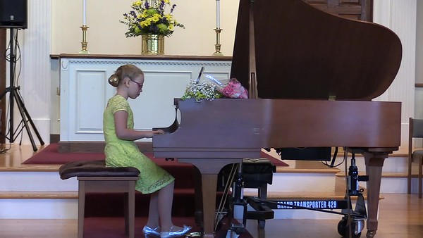 2017 Allegretto piano studio. June 2017. Sonya Moiseyeva