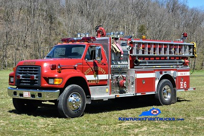 Boyle County FD Co 6 - Forkland Station