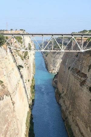 Corinth Canal - 7/4/2009