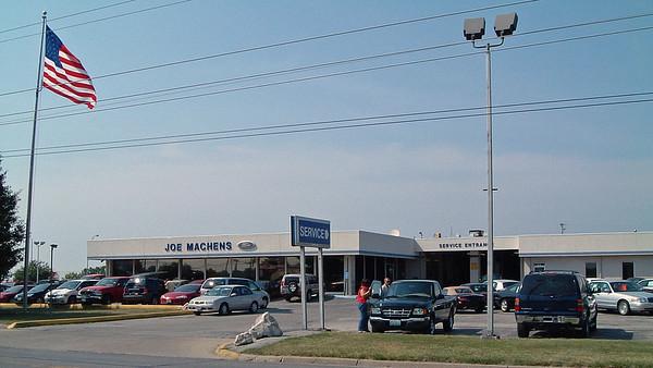 July 26, 2003:  My new job at Joe Machens Ford .  .  .