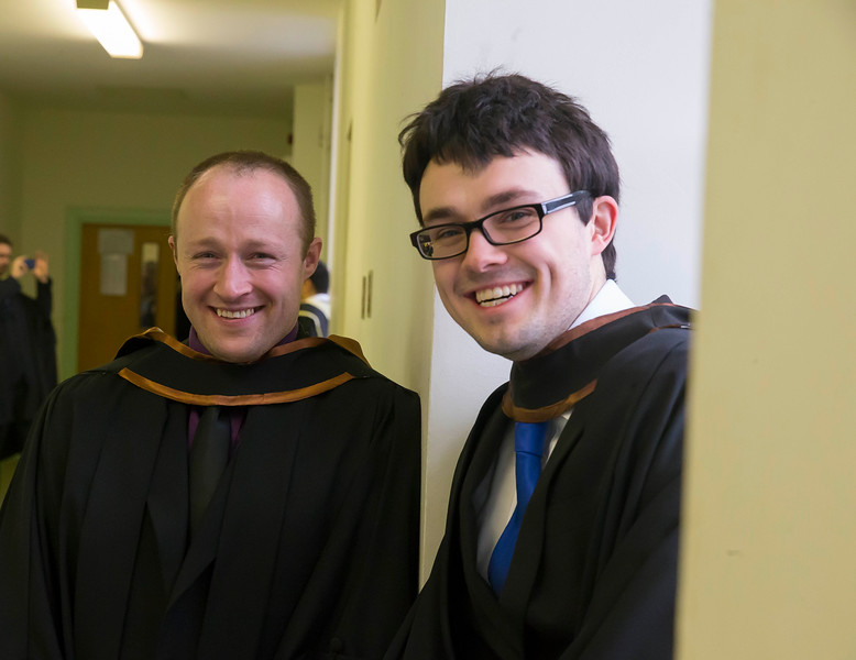 30/10/2015. Waterford Institute of Technology Conferring. Pictured are Joey Connolly and Colm Carew, Waterford.Picture: Patrick Browne