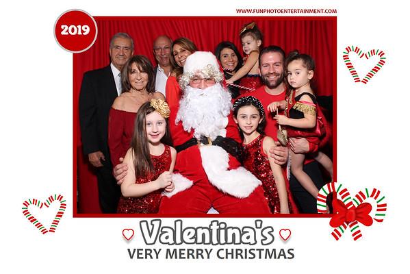 Valentina's Very Merry Photos with Santa