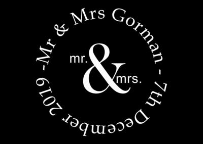 Mirror Booth hire - Mr & Mrs Gorman