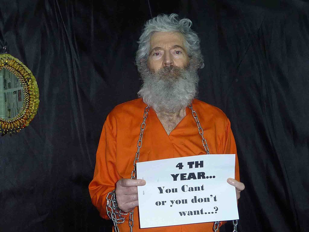 """. <p>7. ROBERT LEVINSON <p>Longs for the days when the American government gave a rat�s ass about hostages in Iran. (unranked) <p><b><a href=\'http://www.dailymail.co.uk/news/article-2523994/Robert-Levinson-American-captured-Iran-seven-years-ago-CIA-operative-unapproved-mission.html\' target=\""""_blank\""""> HUH?</a></b> <p>   (AP Photo/Levinson Family)"""