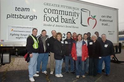 Working with the Greater Pgh Community Foodbank 11-2007