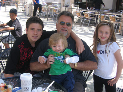 Dad, Maxwell, Katie and Jackson