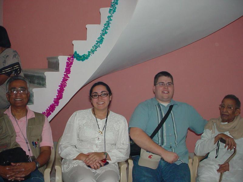 Hem, Maya, Scott and Shiva Rao