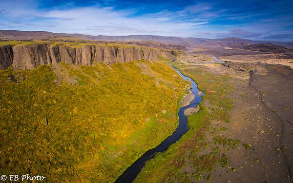 Iceland thjorsardalur