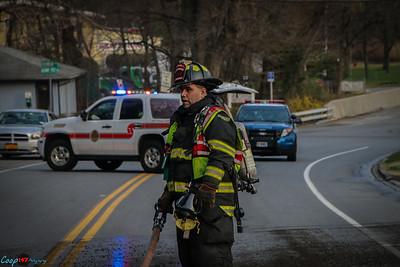 3-27-16 Car Fire, Albany Post Road
