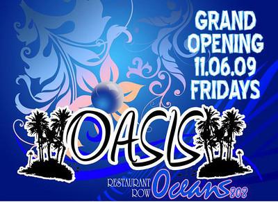 Oasis @ Oceans 808 11.6.09
