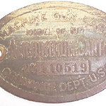 MODEL OF 1917 MACHINE GUN CART #110519