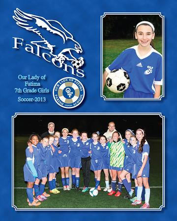 2013 soccer 7th Gr Girls