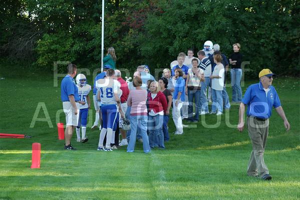 parent night . 7-8th football v. durand 9.16.08