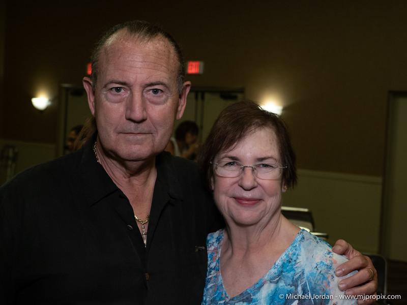 Sonny Culbreth and Carolyn Schenk
