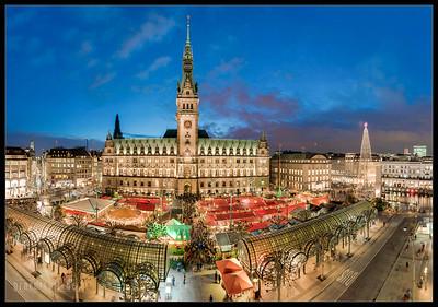 2014 12 19 Weihnachtsmarkt Hamburger Rathaus