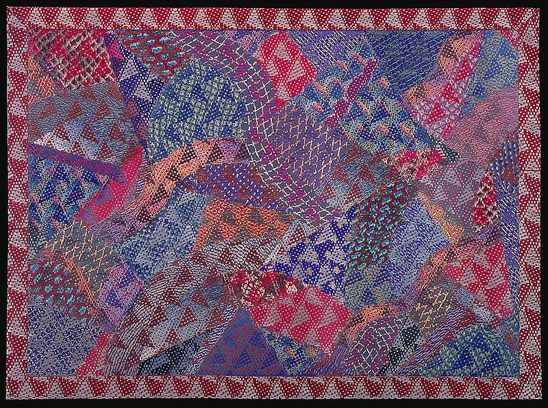 "Lia Cook, ""Crazy Too Quilt"" (1989)"