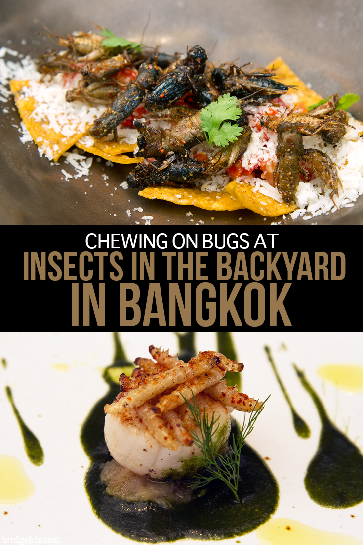 Would you eat insects for dinner? Visit #ChangChui market in #Bangkok, #Thailand to see local art, movies, theatre, shop for some unique goods and eat all sorts of strange foods - like bugs at the restaurant Insects in the Backyard, or custard toast.