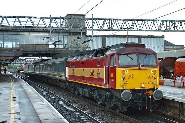 13th May 2003: Highbury, Stafford and Crewe