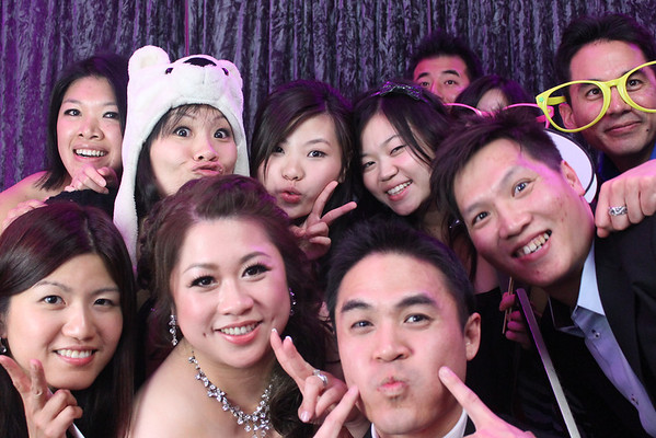 Summer and Daniel's Wedding Photo Booth Singles