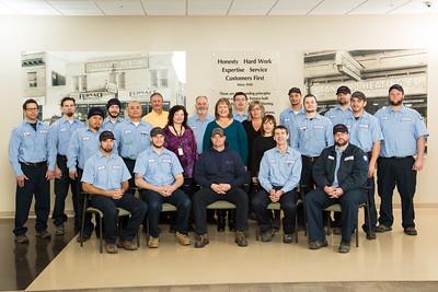 2017 Standard Heating Installation Team