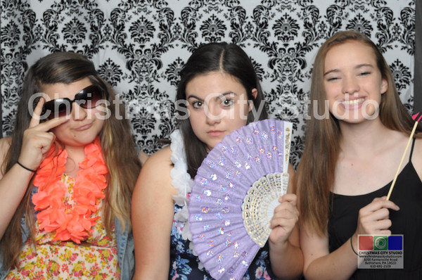 Paula Kaylah Mullen Sweet Sixteen Photobooth