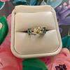 2.10ct Art Deco Peruzzi Cut Diamond Ring, GIA W-X SI2 21