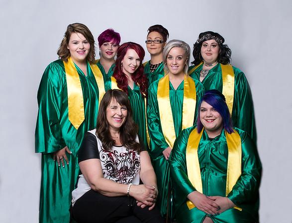 New Dawn Hair Dresser Graduates 2015