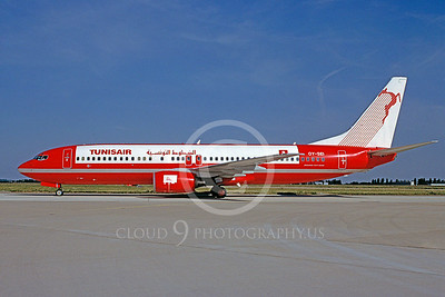 Tunis Air Boeing 737 Airliner Pictures